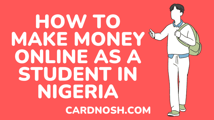 how to make money online as a student in nigeria - cardnosh